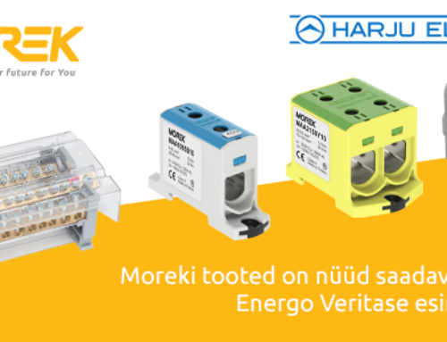 Energo Veritas pakub nüüdsest kõigis oma esindustes laia valikut Moreki tooteid!