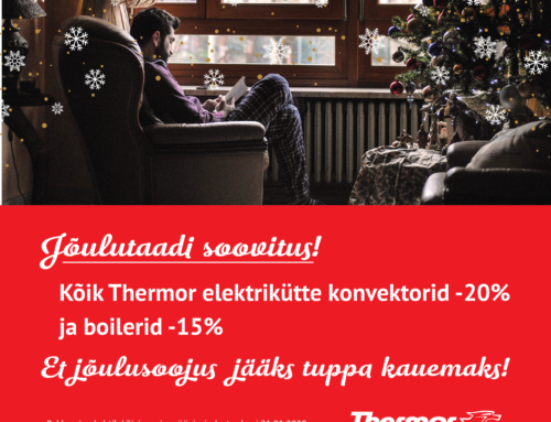 Harju Elekter soovib Teile jõulusoojust sooja pakkumisega!!!