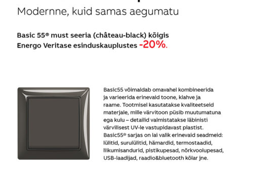 ABB Basic 55® château-black kampaania 14.01.-29.02.2020