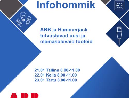 Infohommik ABB ja Hammerjack 21, 22 ja 23.01.2020