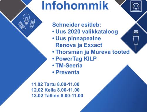 Infohommik Schneider 11.,12. ja 13.02.2020