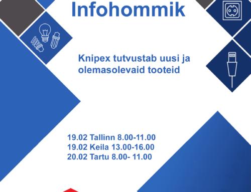Infohommik Knipex 19. ja 20.02.2020