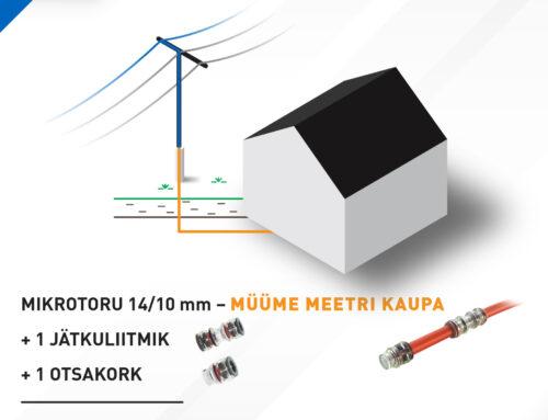Eramaja mikrotoru ühenduskomplekt