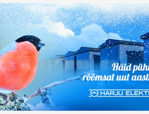 Häid pühi ja rõõmsat uut aastat!
